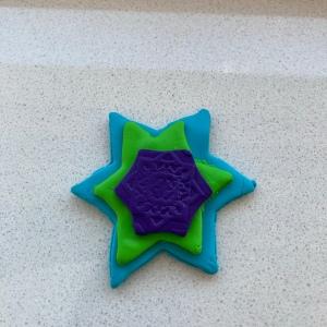 Multi-Layered Polymer Clay Star